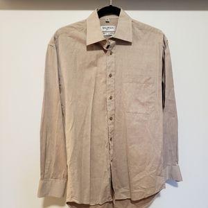 Balmain Light Maroon Dress Shirt